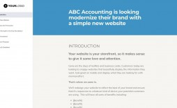 000 Best Freelance Web Design Proposal Template Example