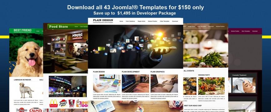 000 Best Joomla Responsive Template Free Example  3.0 Download Website