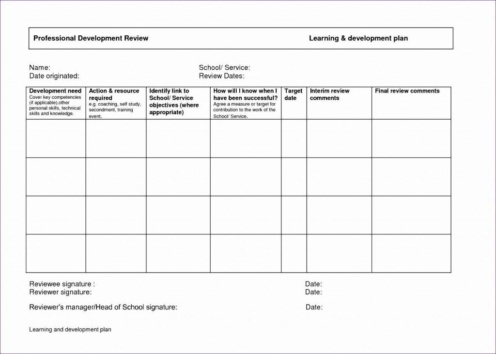 000 Best Personal Development Plan Template Excel Photo  SampleLarge