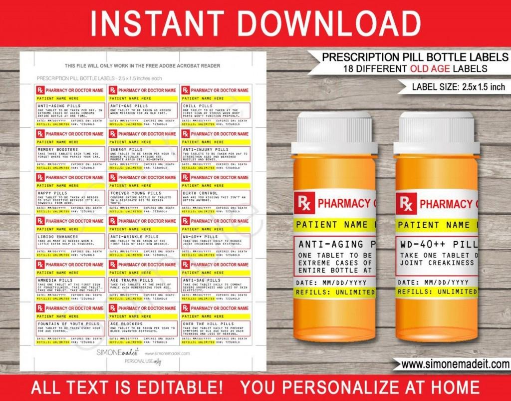 000 Best Pill Bottle Label Template Highest Quality  Vintage Medicine Printable FreeLarge