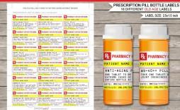 000 Best Pill Bottle Label Template Highest Quality  Vintage Medicine Printable Free