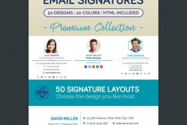 000 Best Professional Email Signature Template Concept  Busines Download
