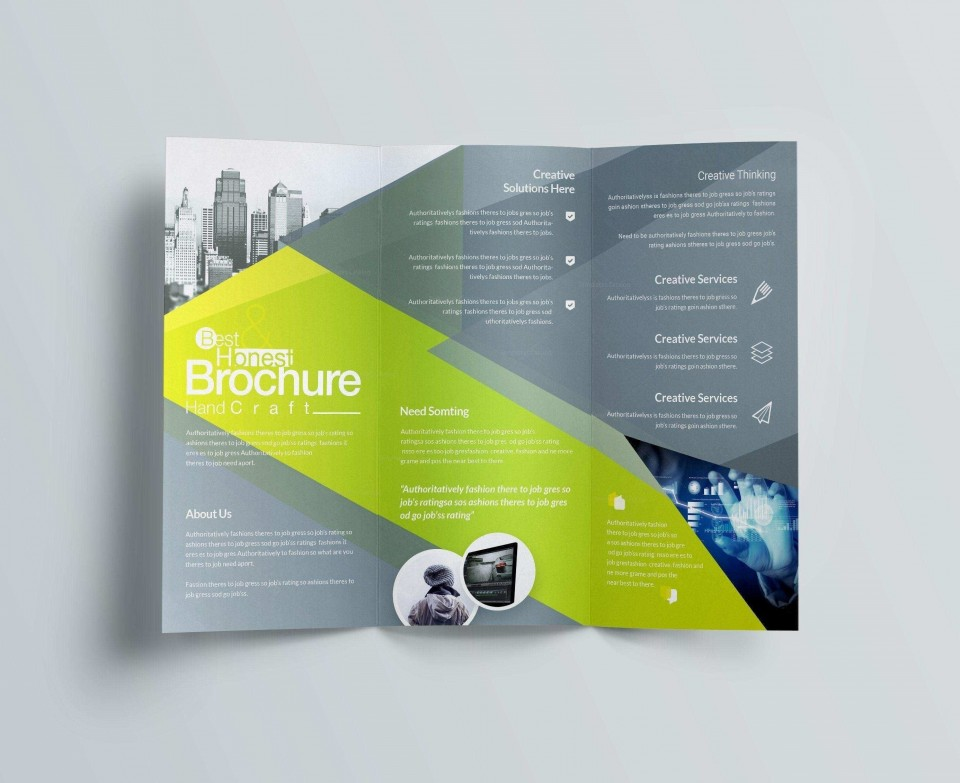 000 Best Publisher Brochure Template Free High Def  Tri Fold Download Microsoft M960
