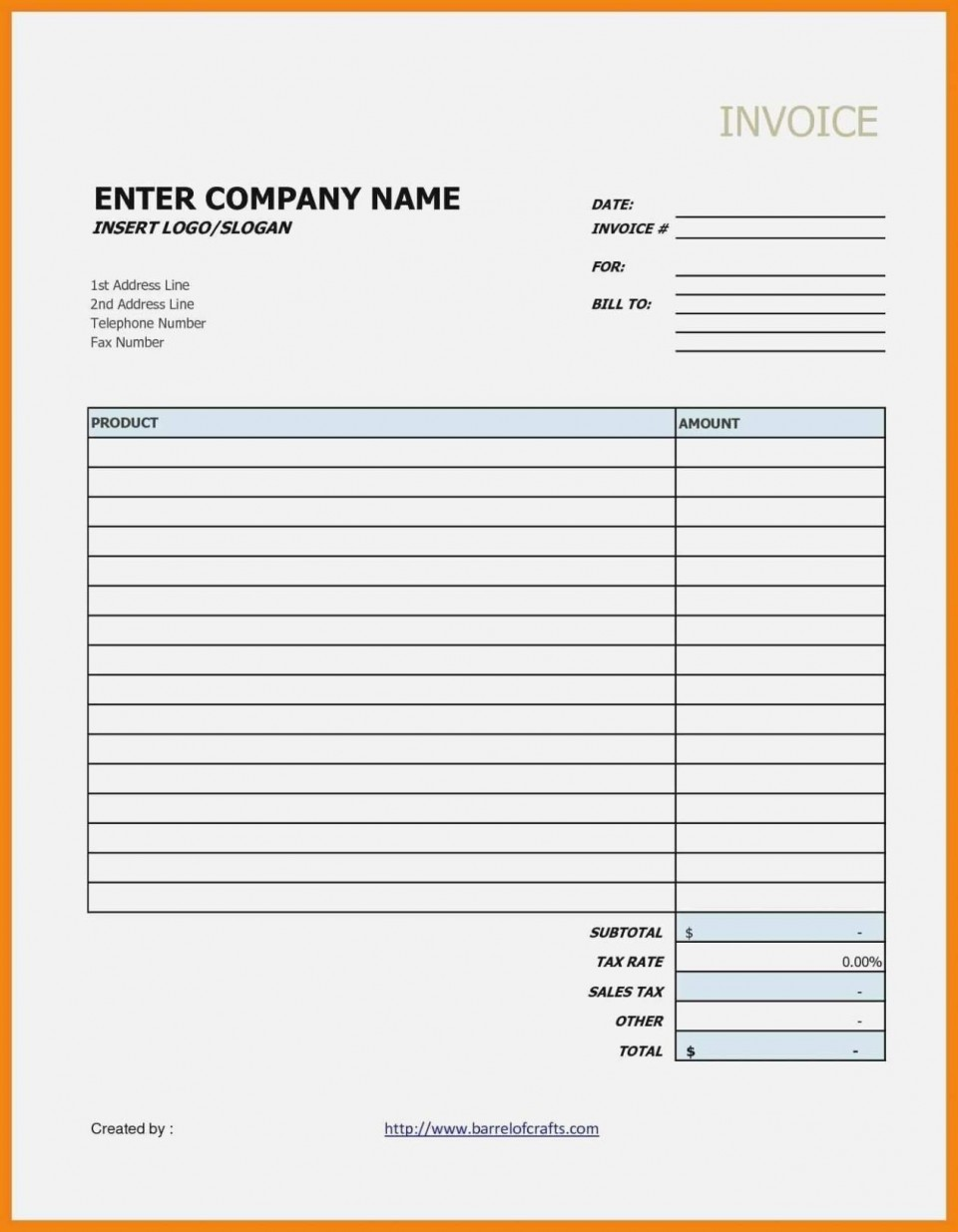 000 Best Receipt Template Google Doc High Resolution  Rent Cash Donation960