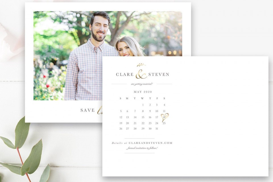 000 Best Save The Date Postcard Template Photo  Diy Free Birthday960