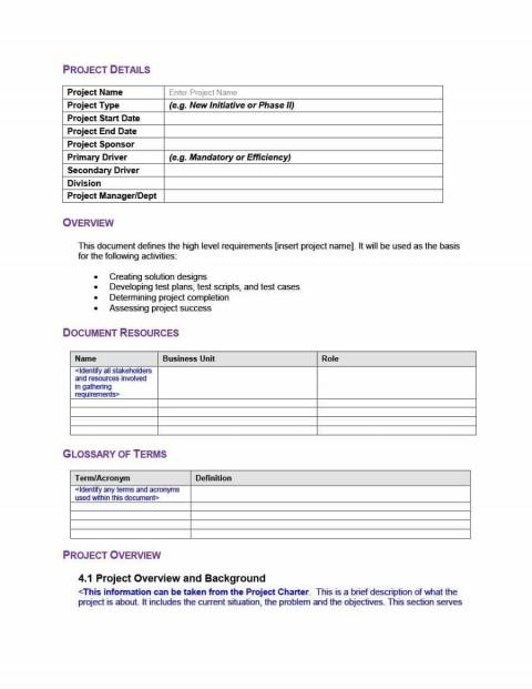 000 Best Simple Test Plan Template High Resolution  Software Uat480