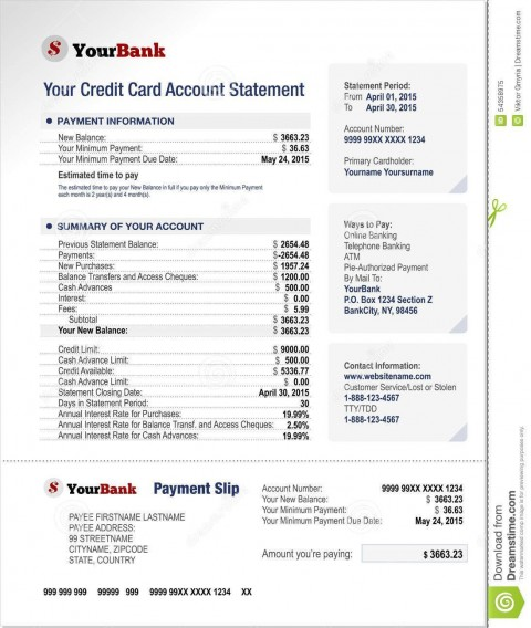 000 Best Statement Of Account Template High Definition  Uk Free Doc Customer480