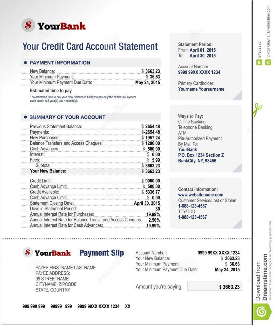 000 Best Statement Of Account Template High Definition  Uk Free Doc Customer960