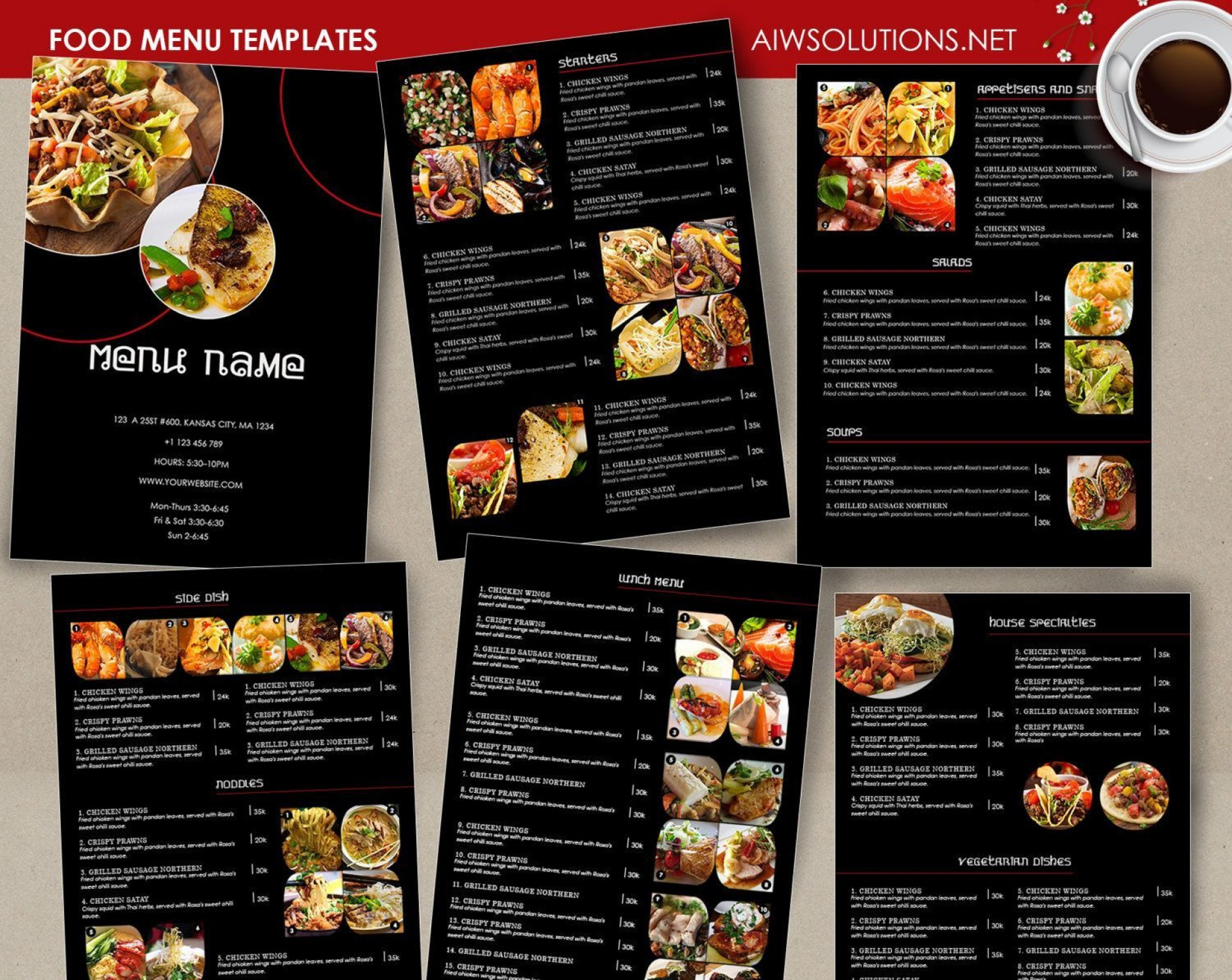 000 Best Take Out Menu Template Photo  Tri Fold Free Word Restaurant Away1920