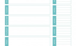 000 Best Weekly Meal Planning Worksheet Pdf High Resolution  Free
