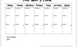 000 Breathtaking 2 Week Meal Plan Printable Concept