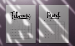 000 Breathtaking 2020 Calendar Template Indesign Image  Adobe Free