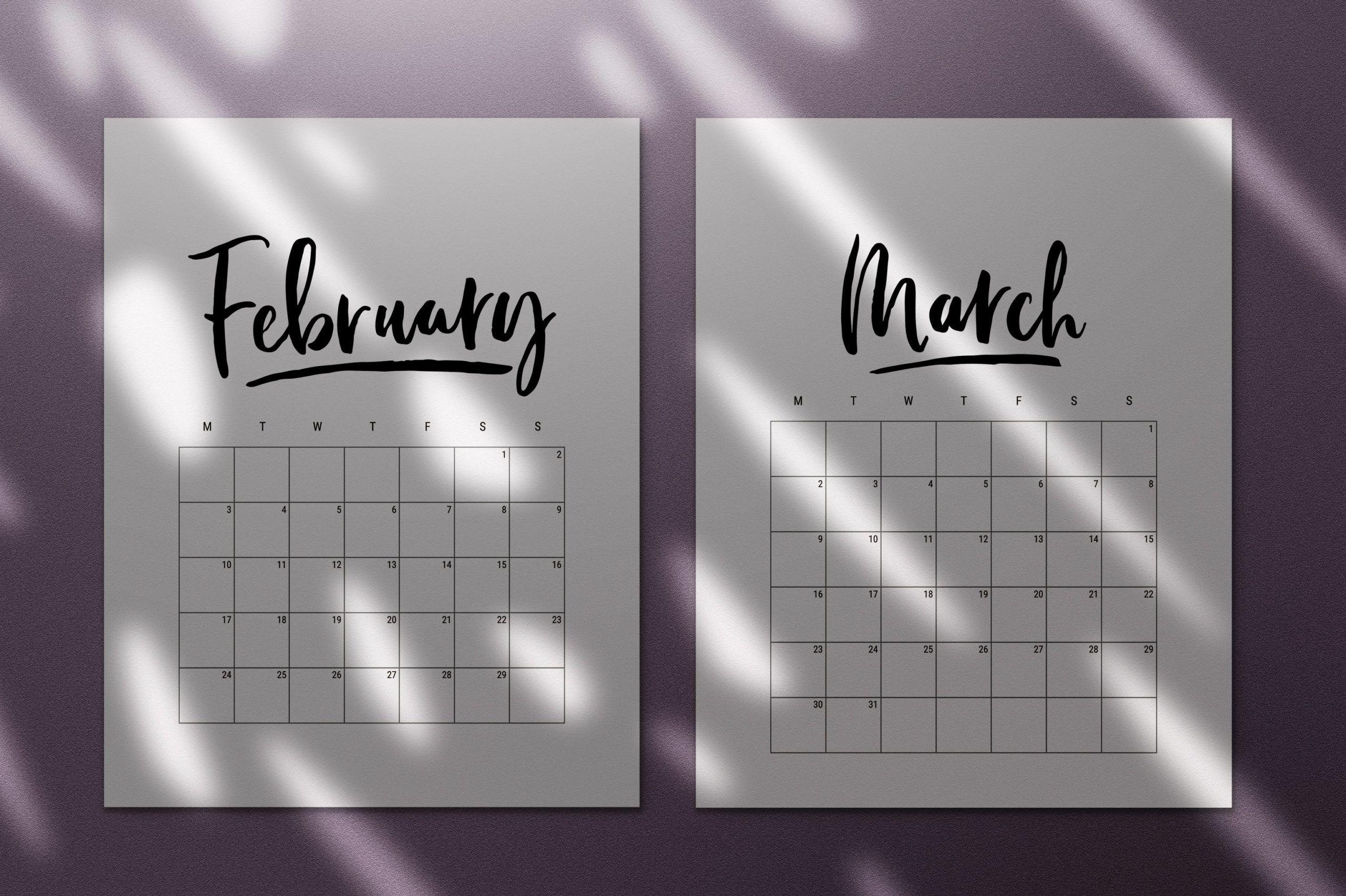 000 Breathtaking 2020 Calendar Template Indesign Image  Adobe FreeFull