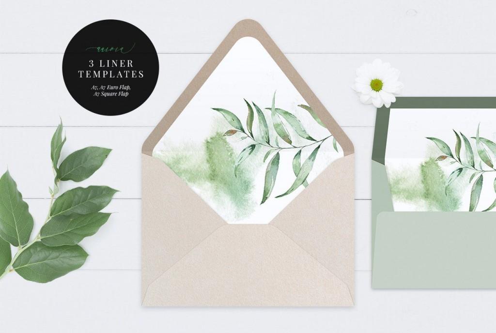 000 Breathtaking A7 Envelope Liner Template Square Flap Idea Large