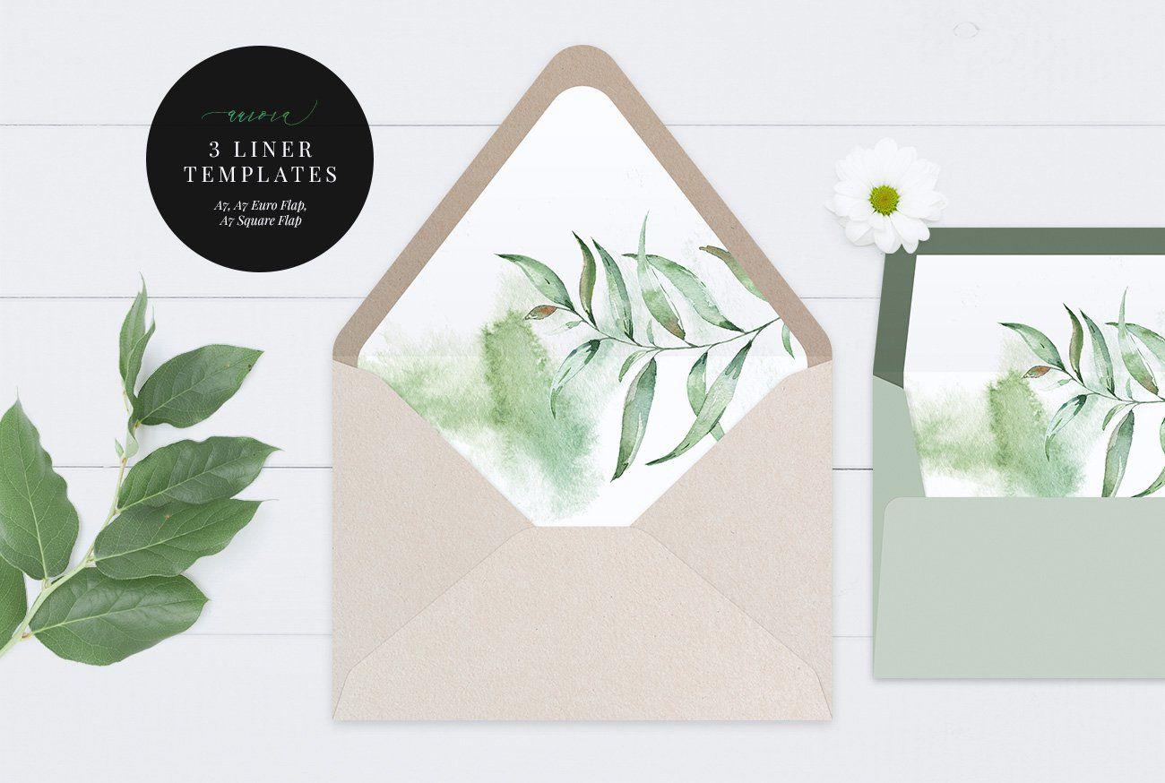 000 Breathtaking A7 Envelope Liner Template Square Flap Idea Full