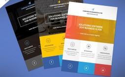 000 Breathtaking Busines Flyer Template Free High Resolution  Psd 2018 Vector Brochure Training