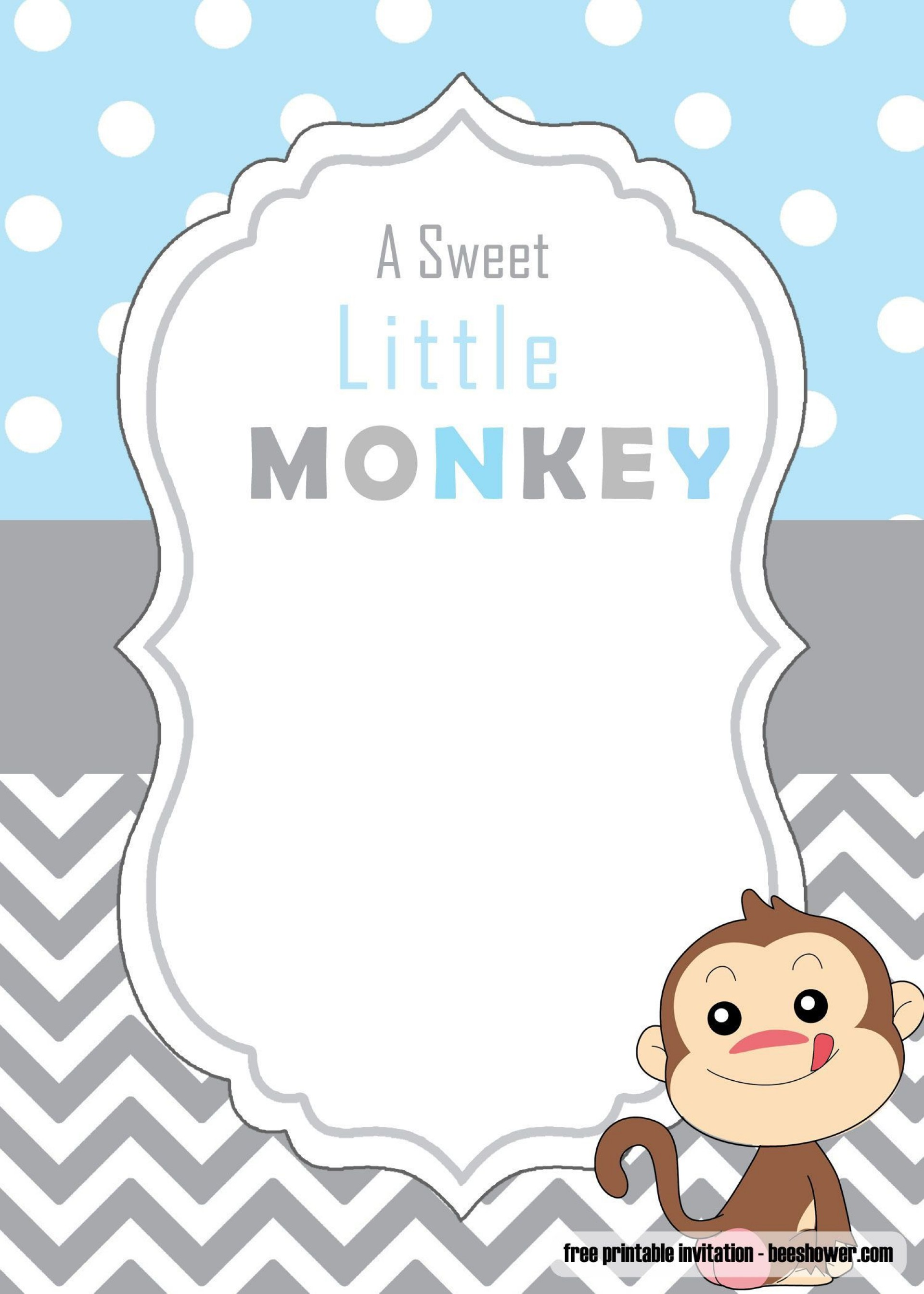 000 Breathtaking Free Baby Shower Invitation Template To Print Picture  Printable Princes For A Boy1920