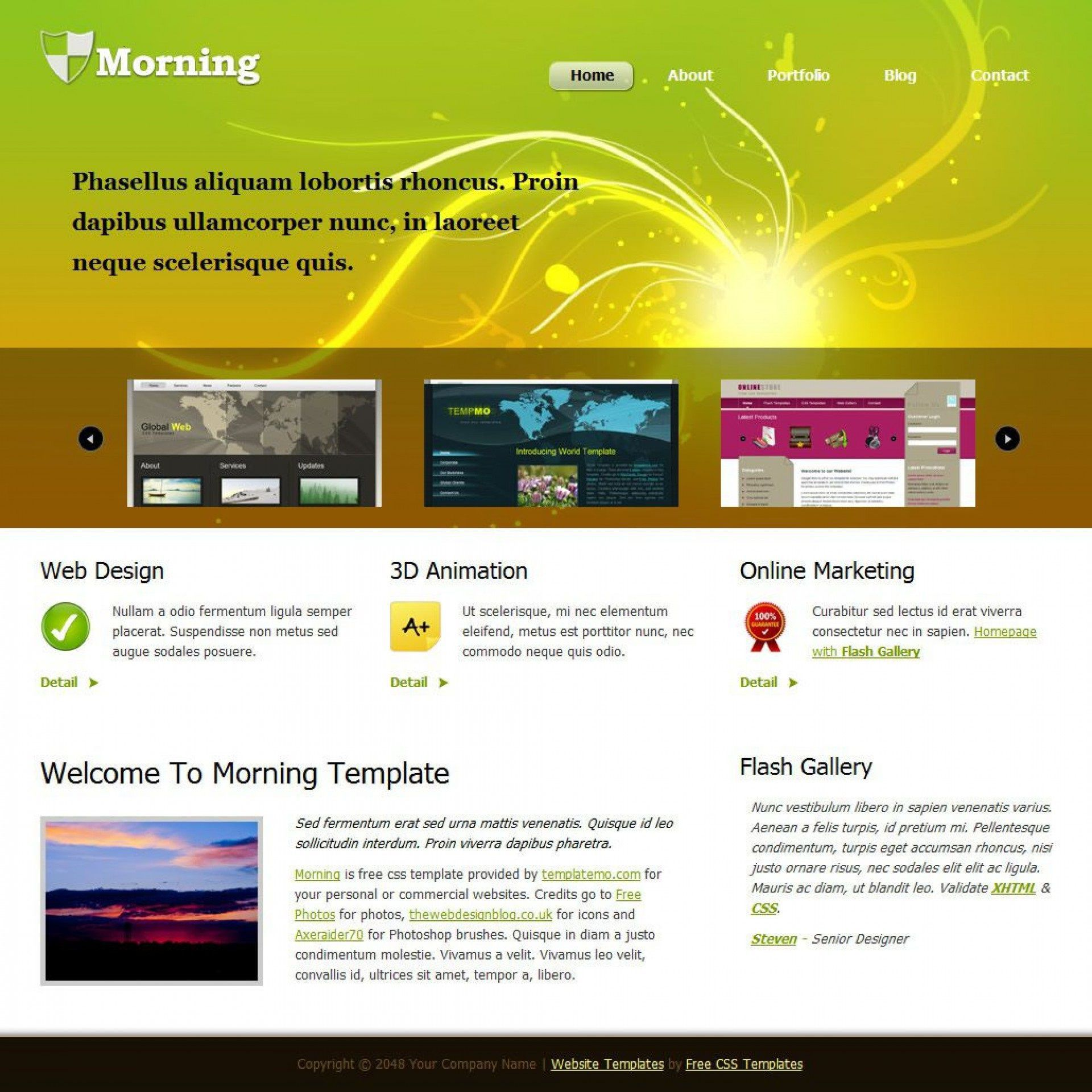 000 Breathtaking Free Flash Website Template Highest Clarity  Templates 3d Download IntroFull