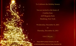 000 Breathtaking Free Holiday Party Invitation Template For Word Picture