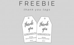 000 Breathtaking Free Printable Thank You Gift Tag Template Concept  Templates