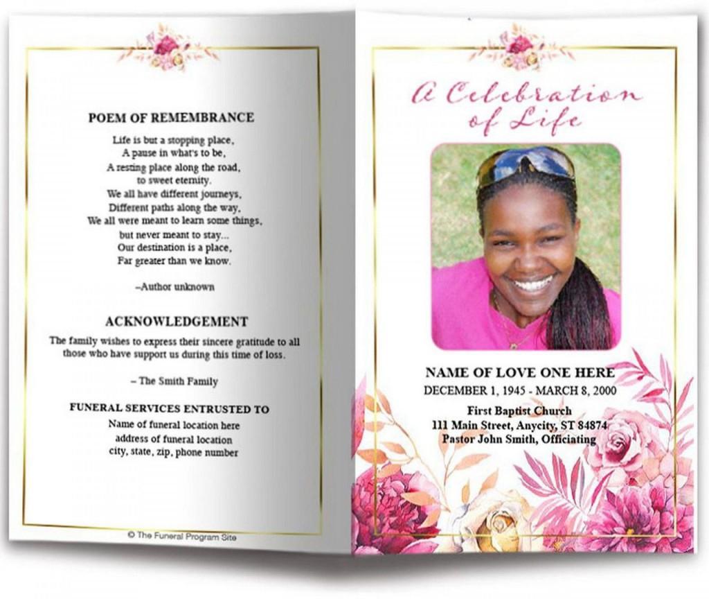 000 Breathtaking Funeral Program Template Free Photo  Online Printable Download PublisherLarge