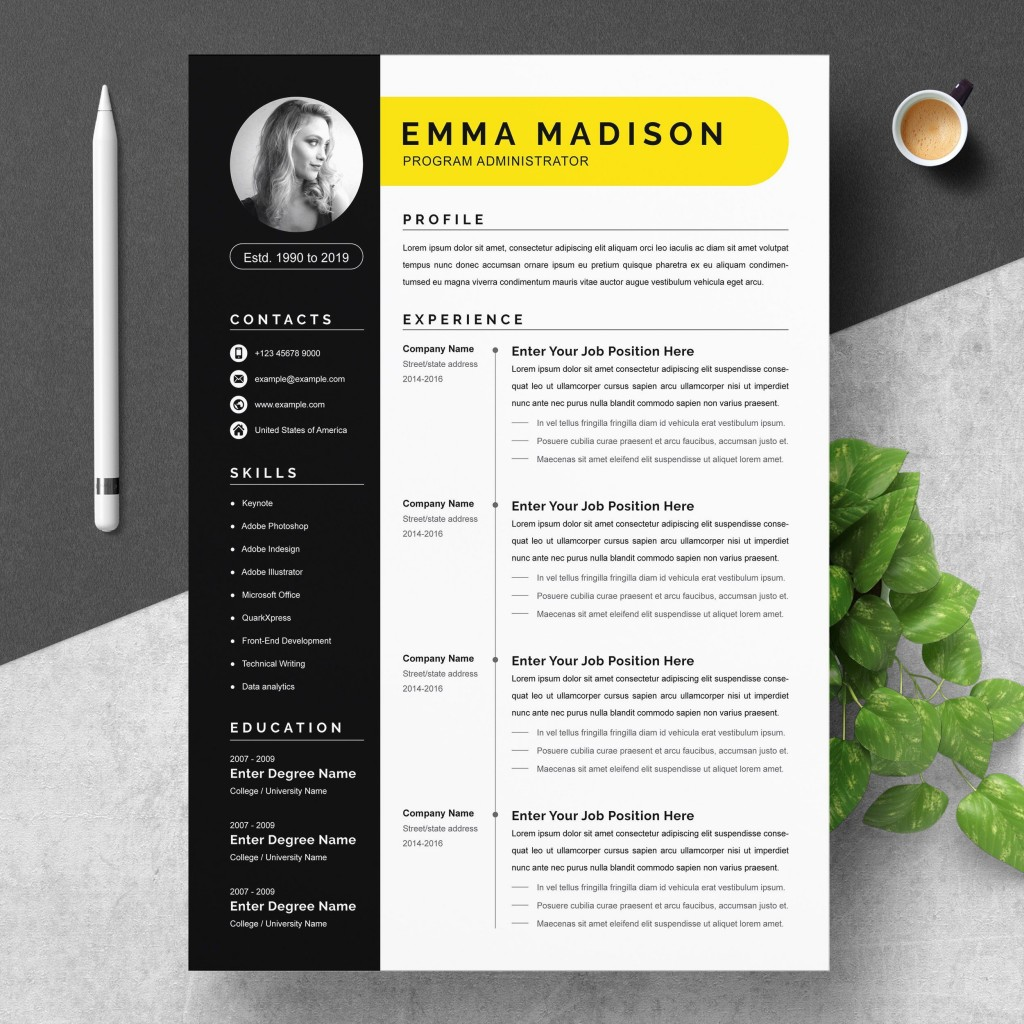 000 Breathtaking Resume Template Word 2007 Free Highest Clarity  Microsoft Office For MLarge