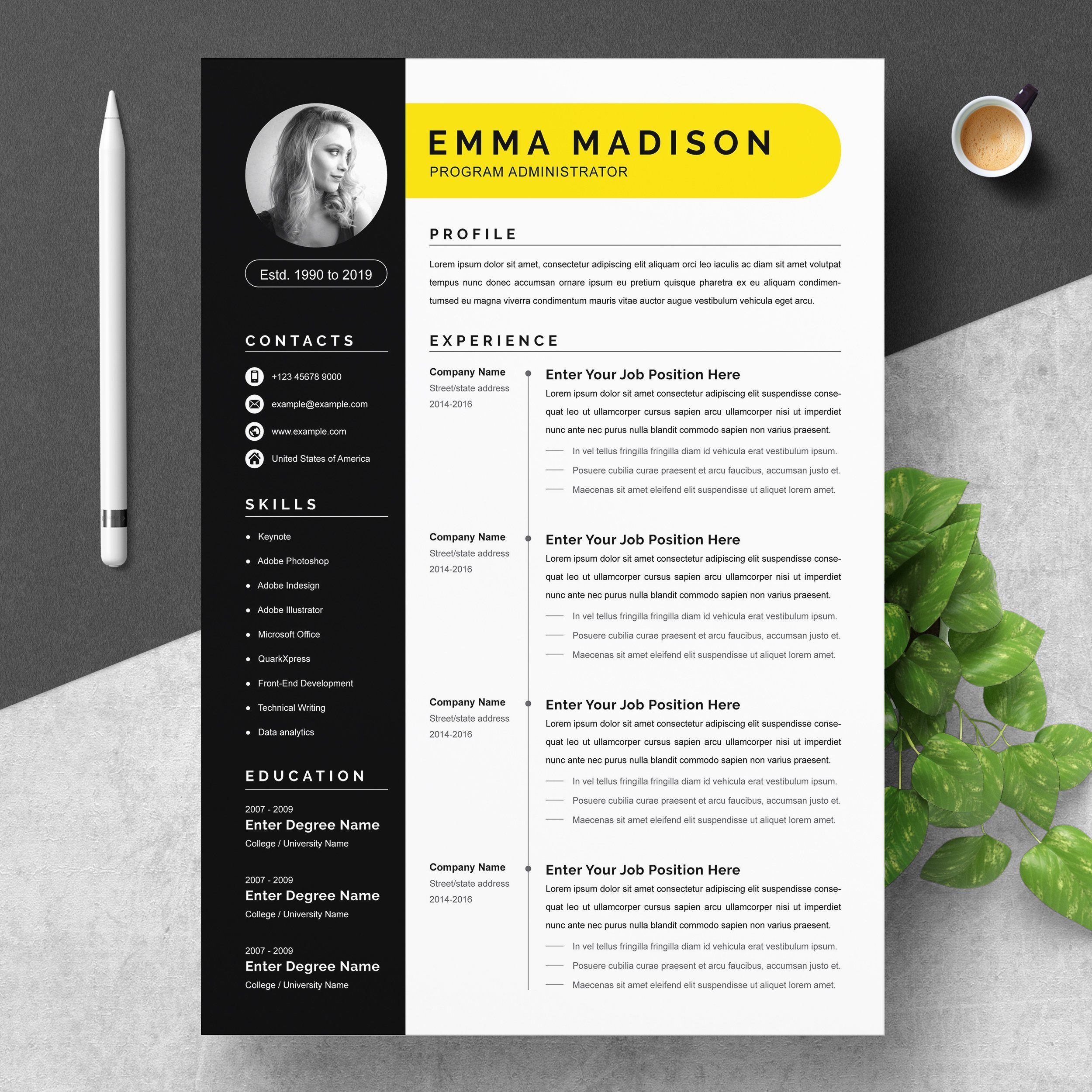 000 Breathtaking Resume Template Word 2007 Free Highest Clarity  Microsoft Office For MFull