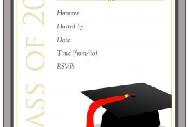 000 Dreaded Free Printable Graduation Invitation Template High Definition  Party For Word