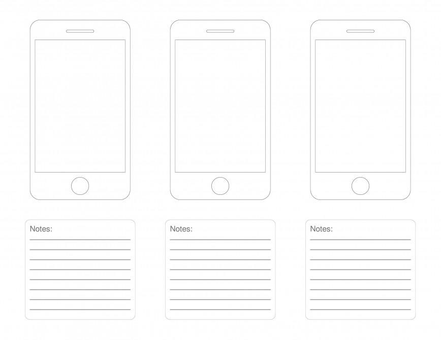 000 Dreaded Iphone App Design Template Highest Clarity  X Io Sketch868