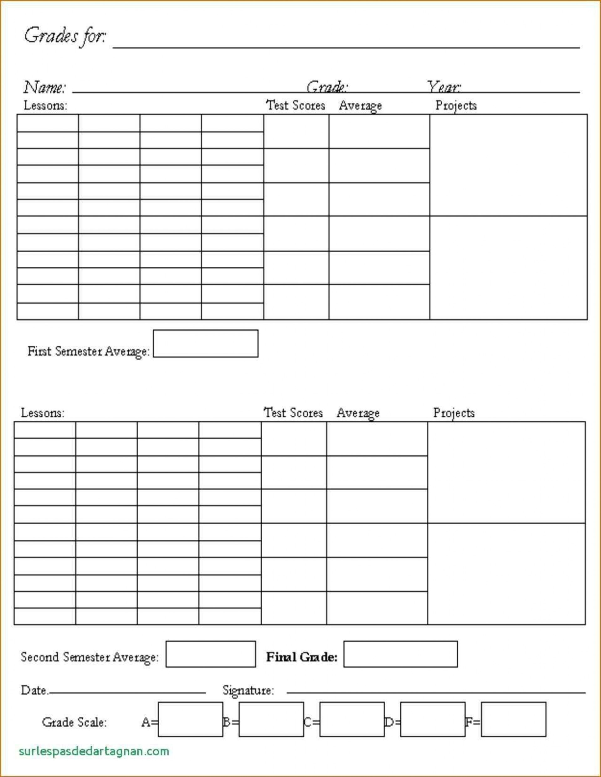 000 Dreaded Middle School Report Card Template High Definition  Pdf Homeschool Free Standard Based Sample1920