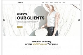 000 Dreaded One Page Website Template Free Download Html5 High Resolution  Parallax