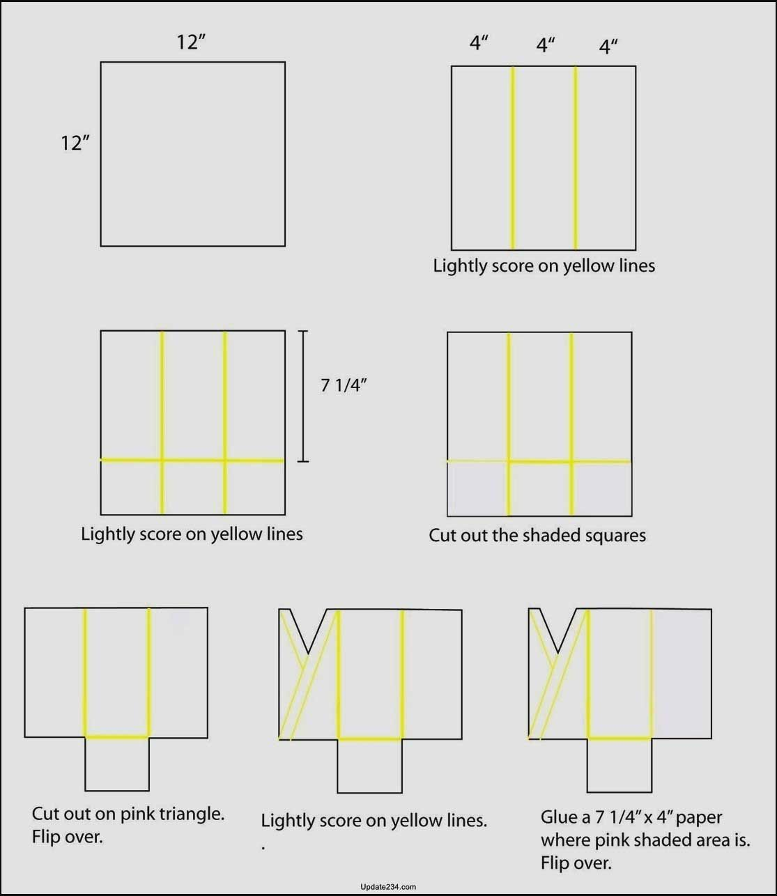 000 Dreaded Quarter Fold Card Template Word Blank High Definition Full