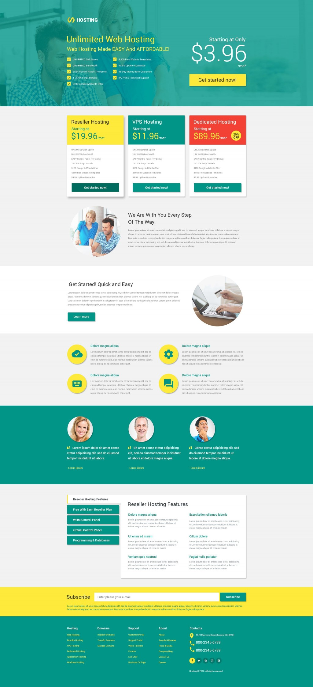 000 Dreaded Responsive Landing Page Template Photo  Free Html With Flexbox Html5Large