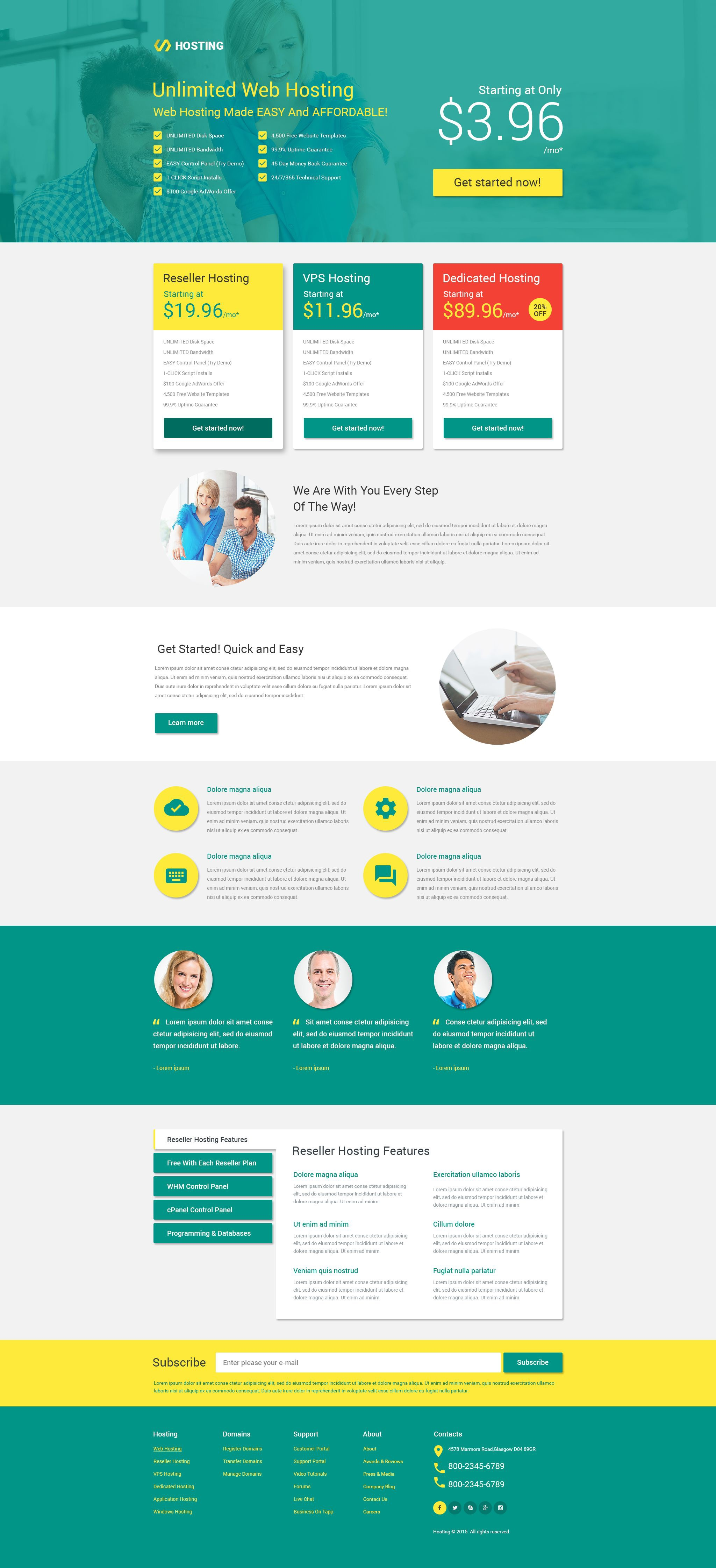 000 Dreaded Responsive Landing Page Template Photo  Free Html With Flexbox Html5Full
