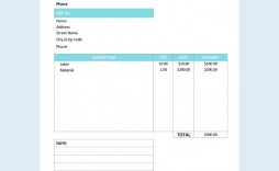 000 Dreaded Service Invoice Template Free High Definition  Auto Download Excel