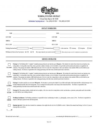 000 Dreaded Wedding Planner Contract Template Idea  Uk Australia320