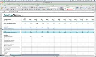 000 Excellent Cash Flow Template Excel Free Idea  Statement Download Format In320