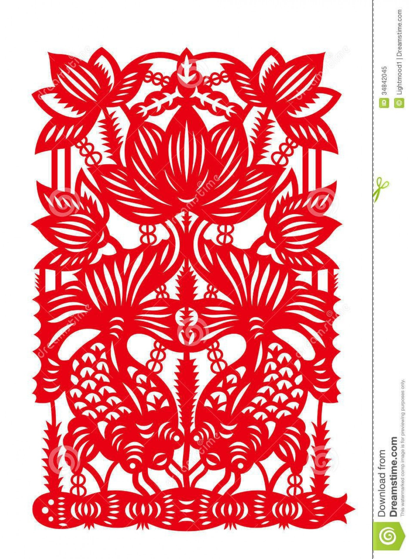000 Excellent Chinese Paper Cut Template Idea 1400