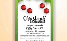 000 Excellent Christma Party Flyer Template Free High Def  Company Invitation Printable Word