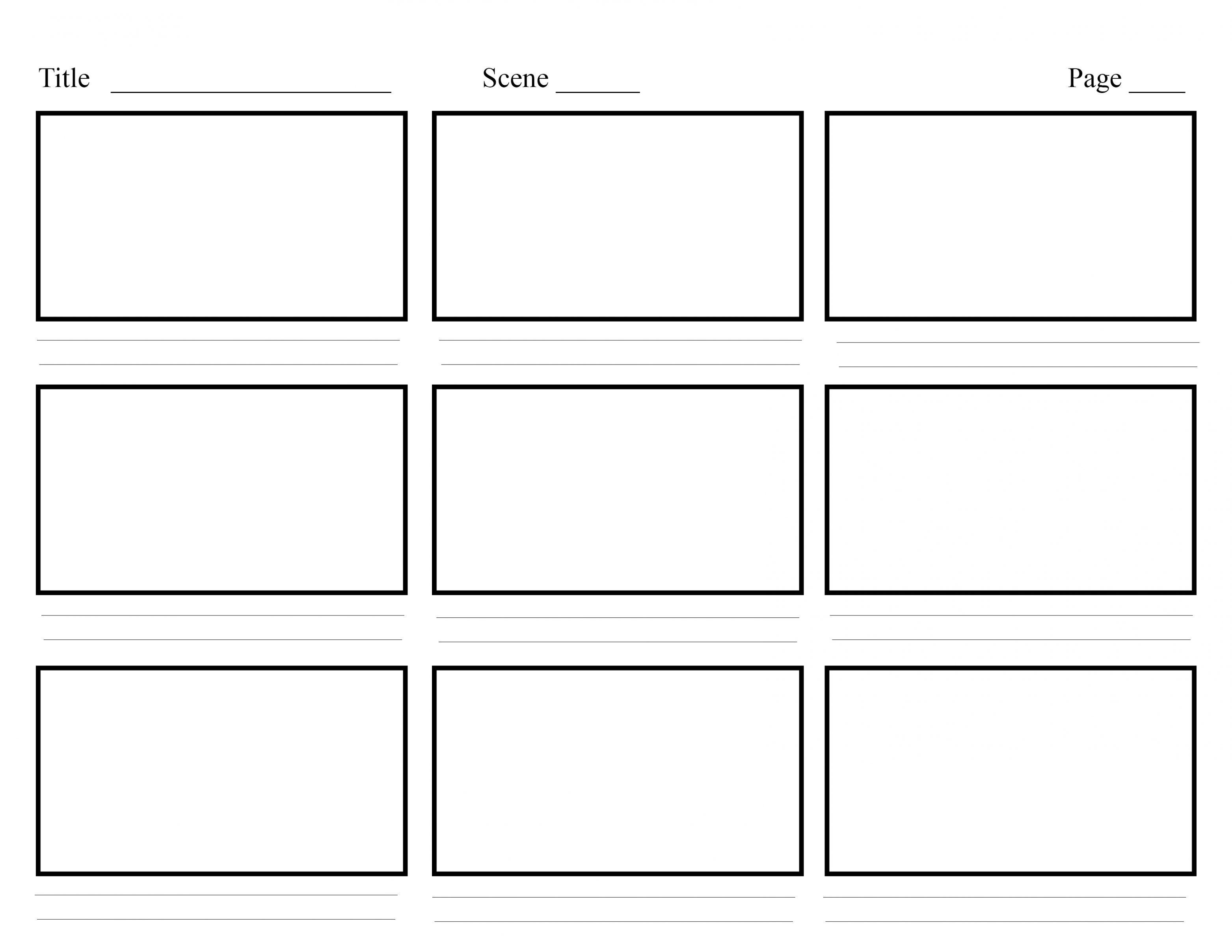 000 Excellent Comic Strip Template Word Doc High Def Full