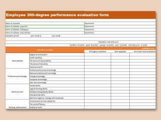 000 Excellent Employee Evaluation Form Template High Def  Sample Doc Printable Free Word320