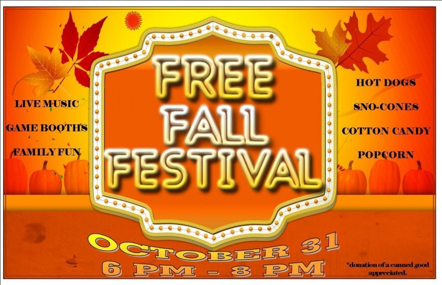 000 Excellent Fall Festival Flyer Template High Def  Free Word