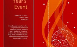 000 Excellent Free Holiday Flyer Template Highest Quality  Templates For Word Printable Christma