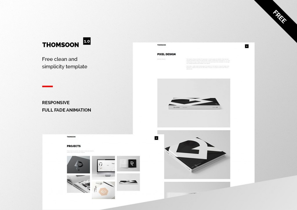 000 Excellent Free Portfolio Website Template Concept  Templates For Web Developer Photography Html5Large