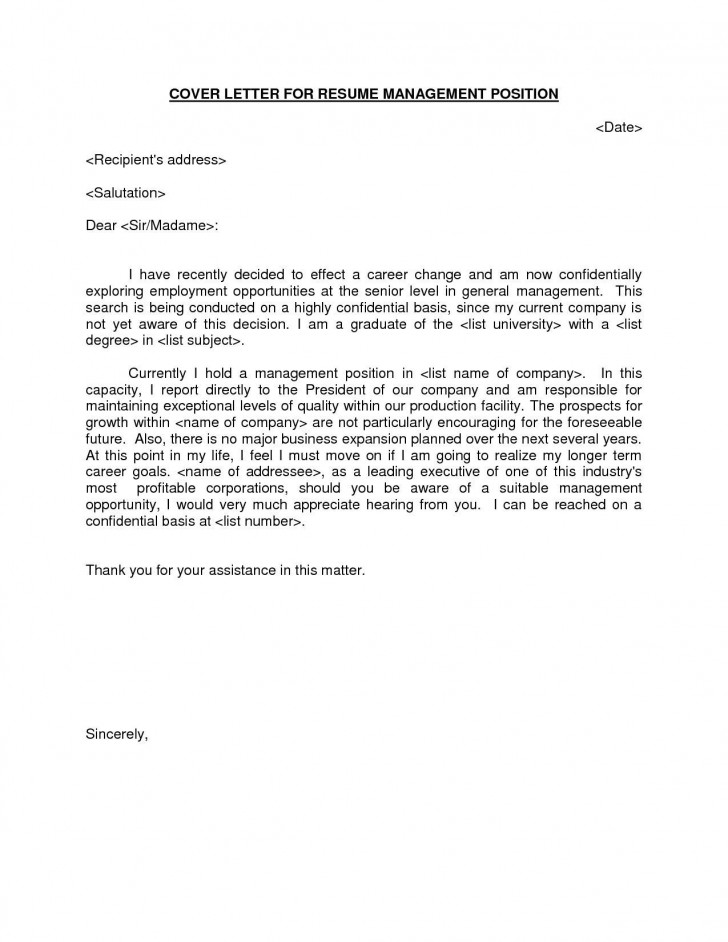 000 Excellent General Manager Cover Letter Template Highest Clarity  Hotel728