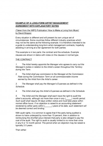 000 Excellent Property Management Contract Template Free Uk Example 360