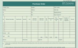 000 Excellent Purchase Order Template Free Design  Log M Acces Blanket