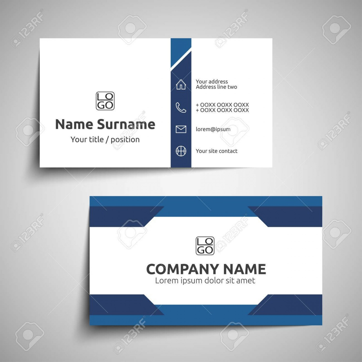 000 Excellent Simple Visiting Card Design Photo  Calling Busines Template Free In Photoshop1400