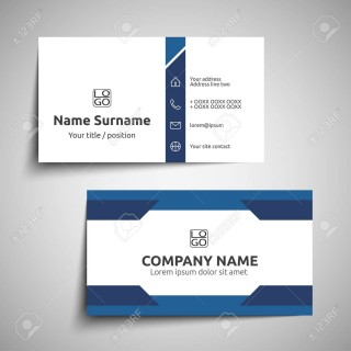 000 Excellent Simple Visiting Card Design Photo  Calling Busines Template Free In Photoshop320