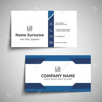 000 Excellent Simple Visiting Card Design Photo  Calling Busines Template Free In Photoshop360